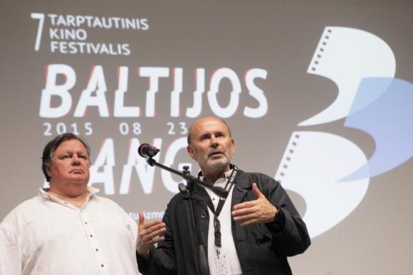 Raimundas Banionis ir Gytis Lukšas. Dž. Barysaitės nuotr.