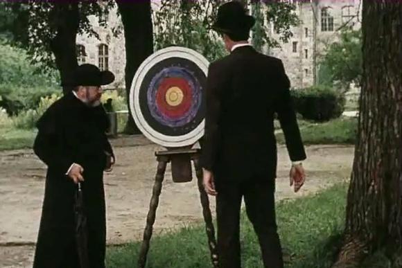 """""""Veidas taikinyje"""", rež. Almantas Grikevičius, 1978"""