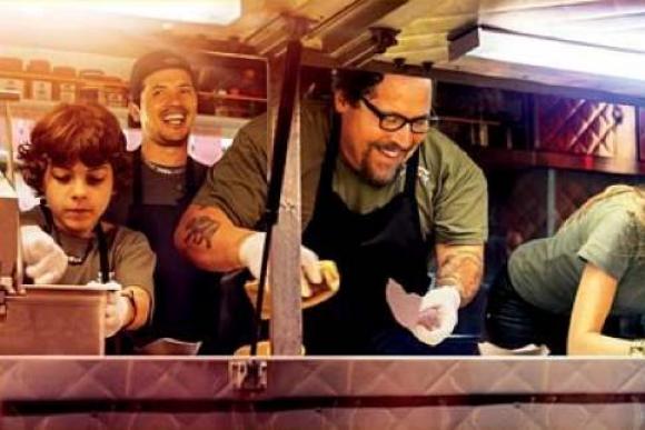 """""""Šefas ant ratų. Virtuvė Los Andžele"""", rež. Jon Favreau, 2013"""