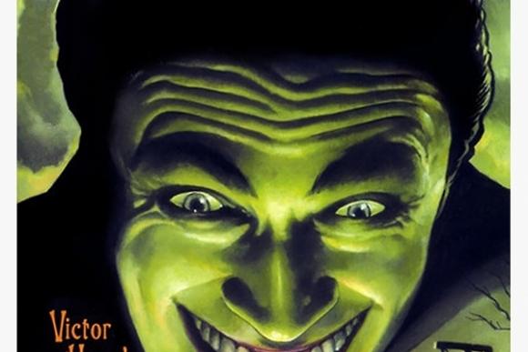 """Filmo """"Žmogus, kuris juokiasi"""" (rež. Paul Leni, 1928) plakatas"""
