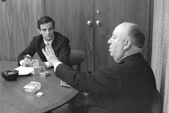 Francois Truffaut, Alfred Hitchcock (Philippe Halsman / Cohen Media Group)