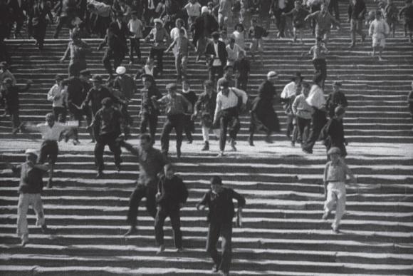 """Šarvuotis ""Potiomkinas"", rež. S. Eizenšteinas, 1925"