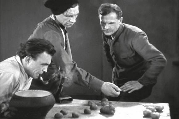 """""""Čiapajevas"""", rež. broliai Vasiljevai, 1934"""