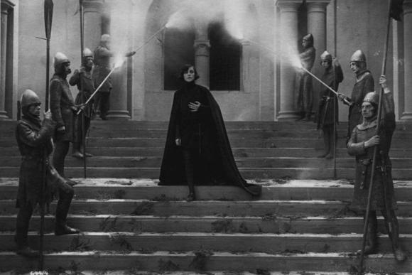 """""""Hamletas"""", rež. Svend Gade, Heinz Schall, 1921"""