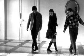 """Išsišokėlių gauja"", rež. Jean-Luc Godard, 1964"