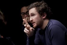 """Darrenas Aronofsky filmuojant """"Juodąją gulbę"""""""