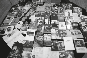 Andrejaus Tarkovskio knygų ekspozicija