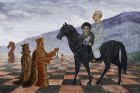 """""""Snieguotas raitelis"""", rež. Aleksej Turkus, 2011"""