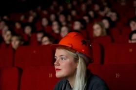 """""""Naujojo Baltijos kino"""" konkurso nugalėtoja Maria Reinup. Lauryno Mataičio nuotr."""