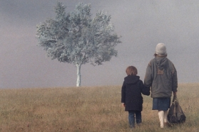"""Peizažas rūke"", 1998"